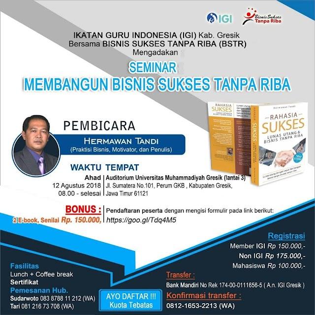 Mengasah Kapak Ilmu Bisnis