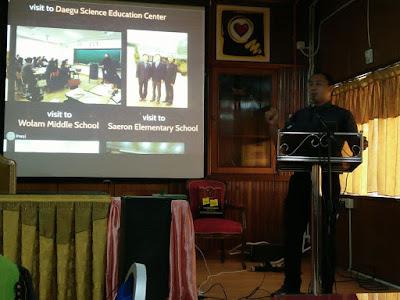 Perkongsian Pengalaman di Korea dengan Guru Cemerlang Kubang Pasu