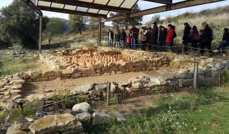 Εκδρομή του Λαϊκού Φροντιστηρίου Αλεξανδρούπολης στον αρχαιολογικό χώρο της Αρχαίας Ζώνης