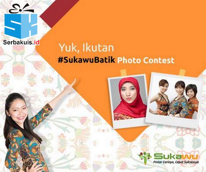 Kontes Foto Sukawu Batik Berhadiah Voucher MAP 600K