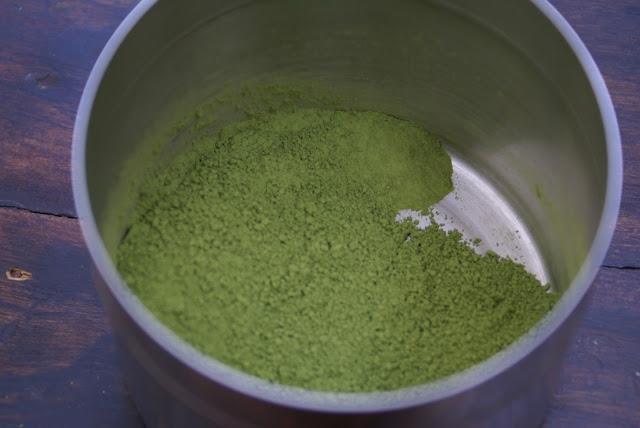 poudre de thé vert