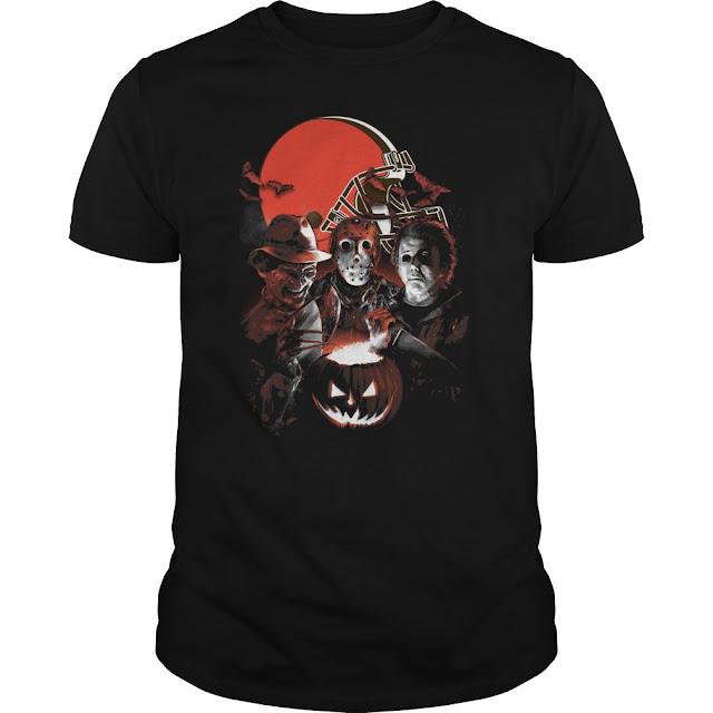 Cleveland Browns Halloween Scream Team Shirt