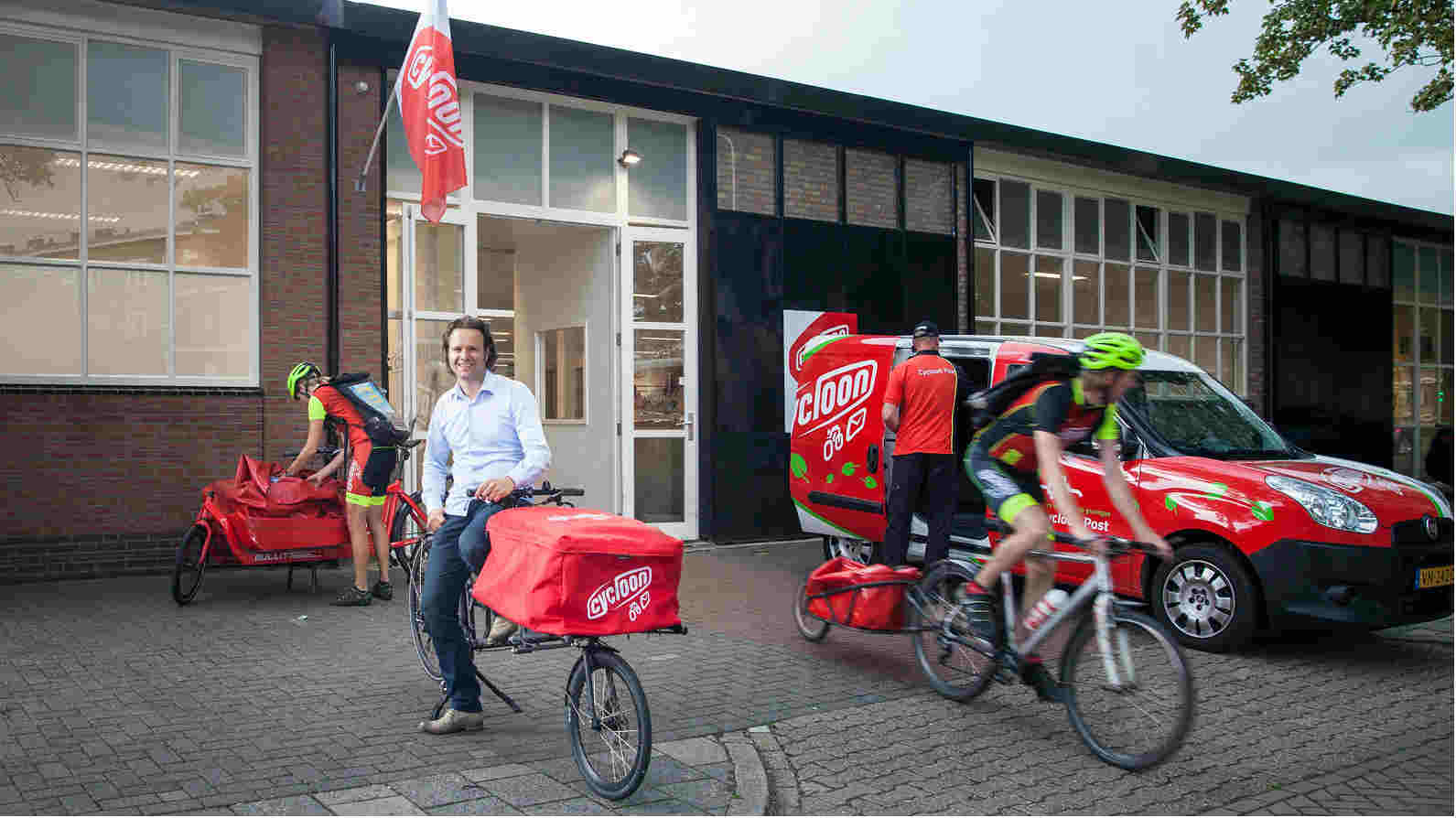 Fietskoeriers - nationwide, same day deliveries by bike