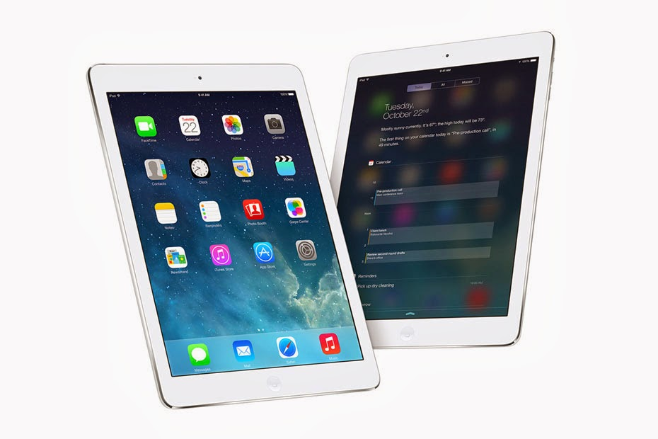 Diseño y pantalla iPad Air