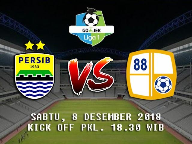 Laga Persib VS Barito Putera Dimajukan Jadi Sabtu, 8 Desember 2018