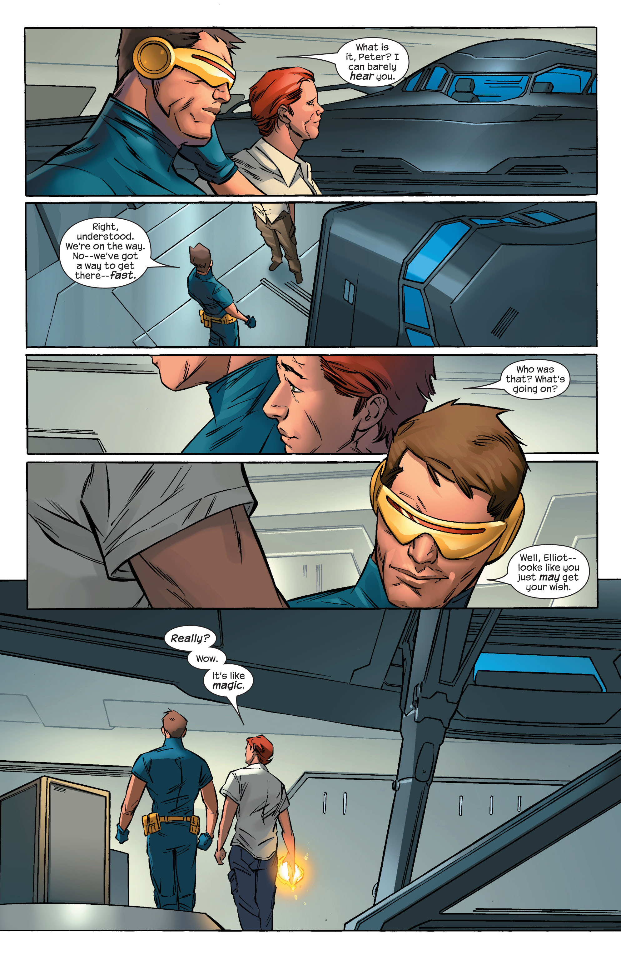 Read online Ultimate X-Men comic -  Issue #69 - 22