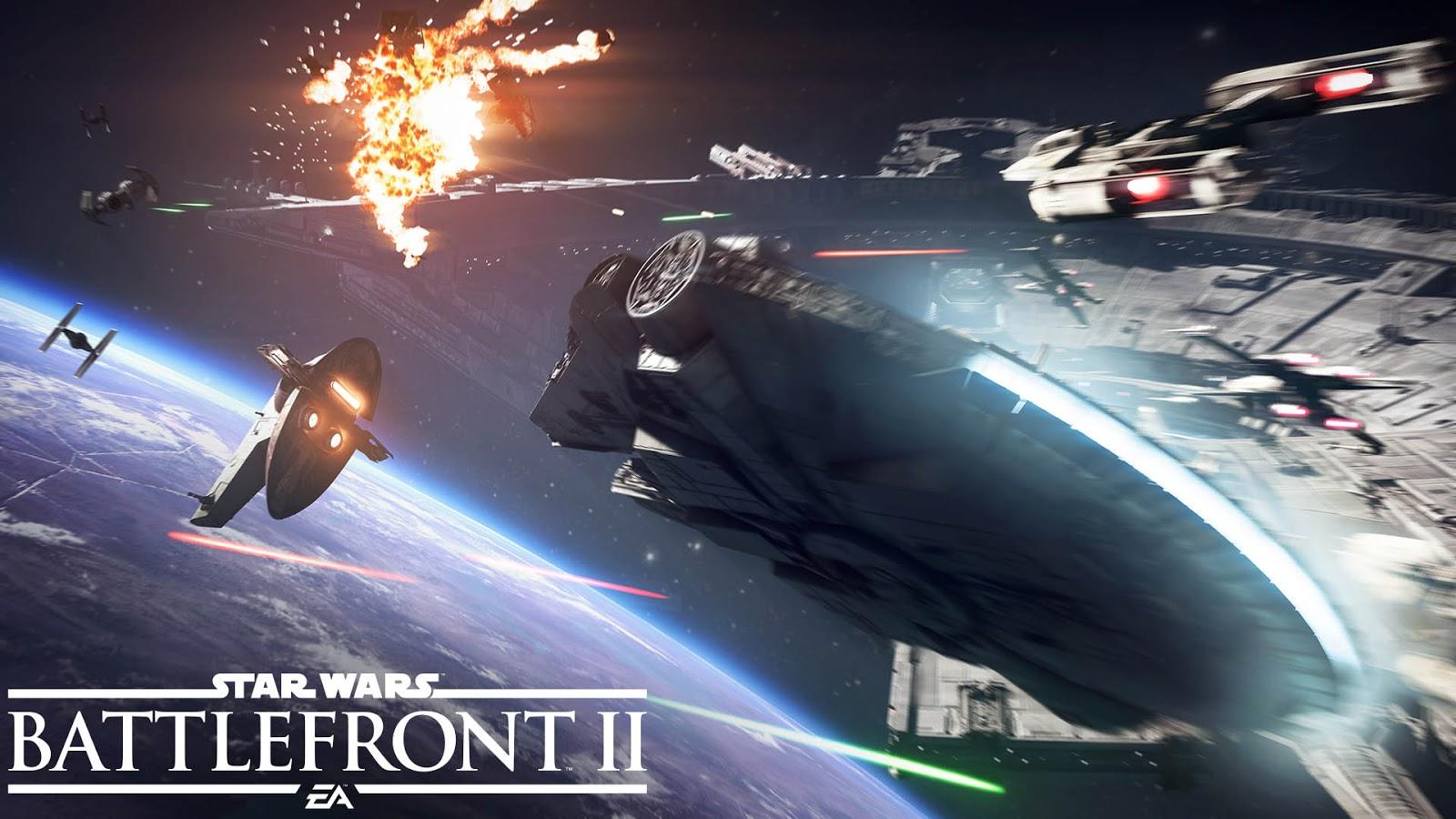 Star Wars Battlefront II deslumbra con su modo espacial, Asalto de Cazas Estelares