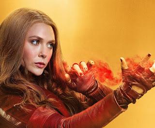 Elizabeth Olsen aka Wanda aka Scarlett Witch