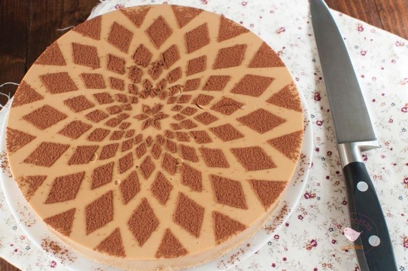 tarta de dulce de leche