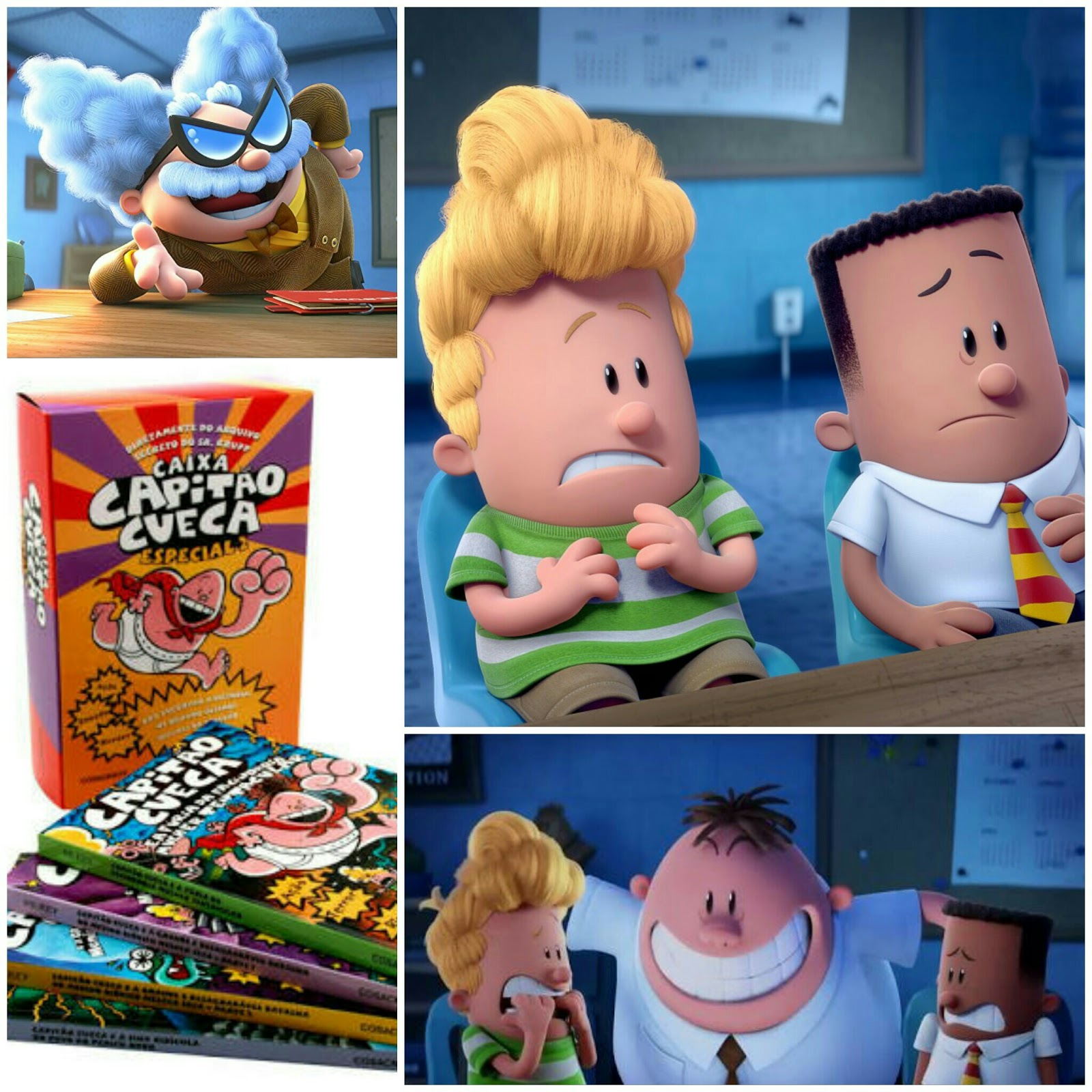 { #FILME } AS AVENTURAS DO CAPITÃO CUECA (CAPTAIN UNDERPANTS)