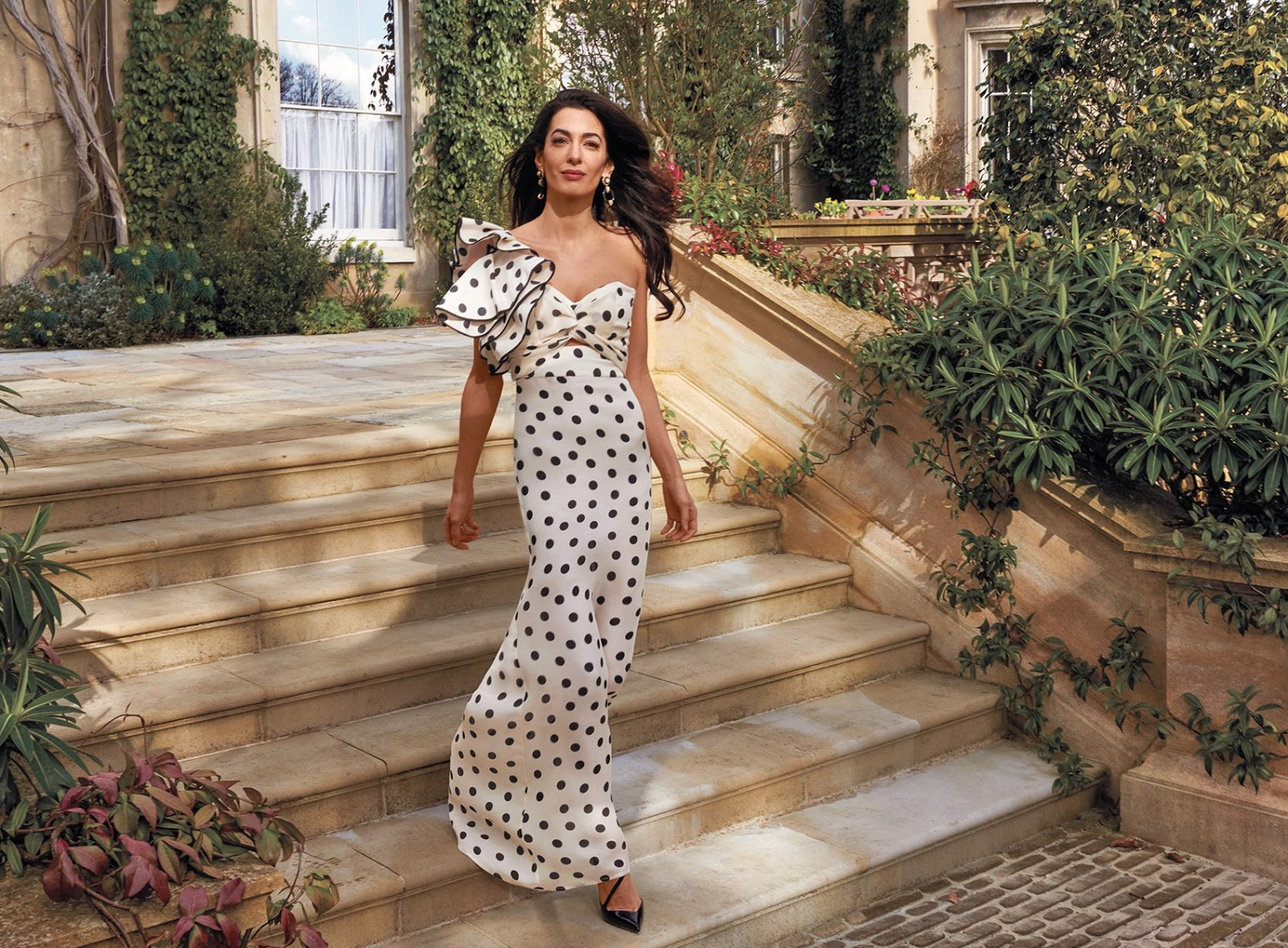 Amal Clooney for Vogue US May 2018
