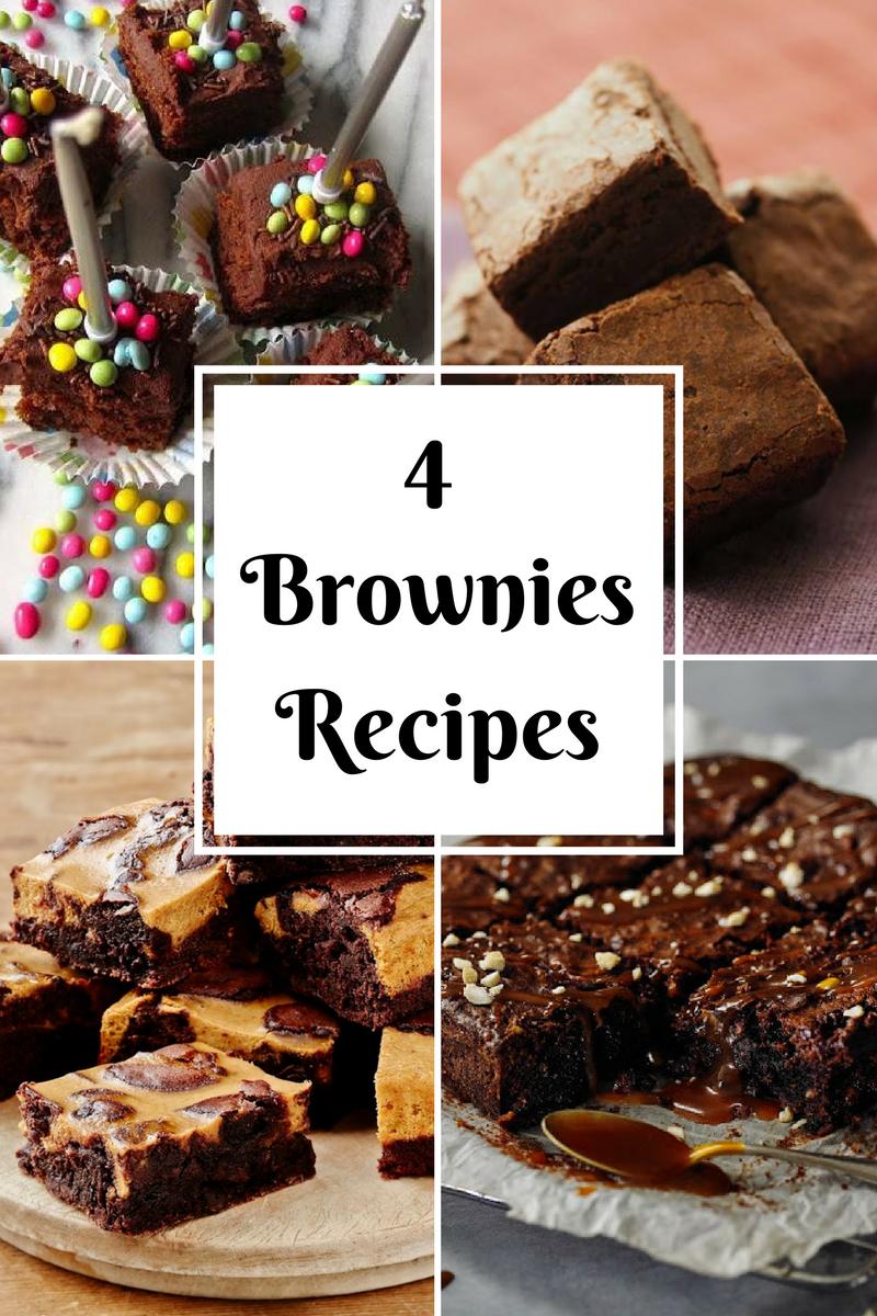 4 Brownies Recipes