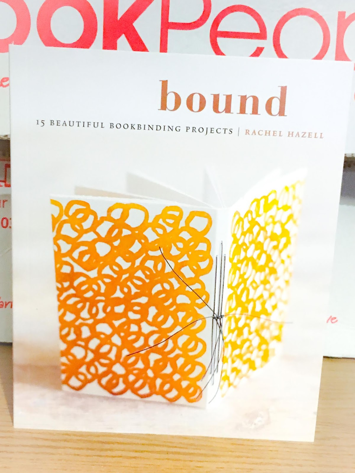 Bound paperback front cover