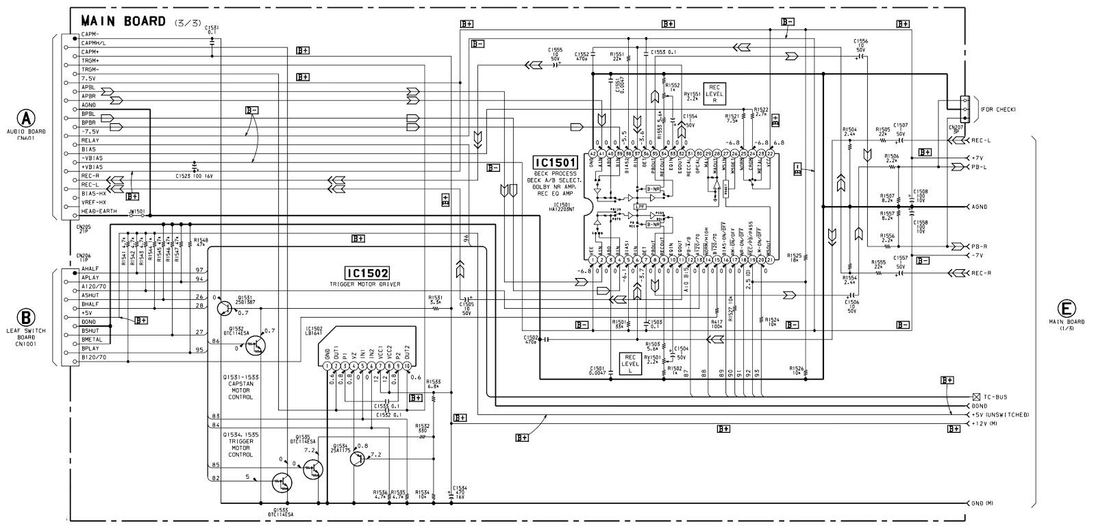 Electrotricks Sony Hcd Xb66 Xb660 Compact Disc Deck