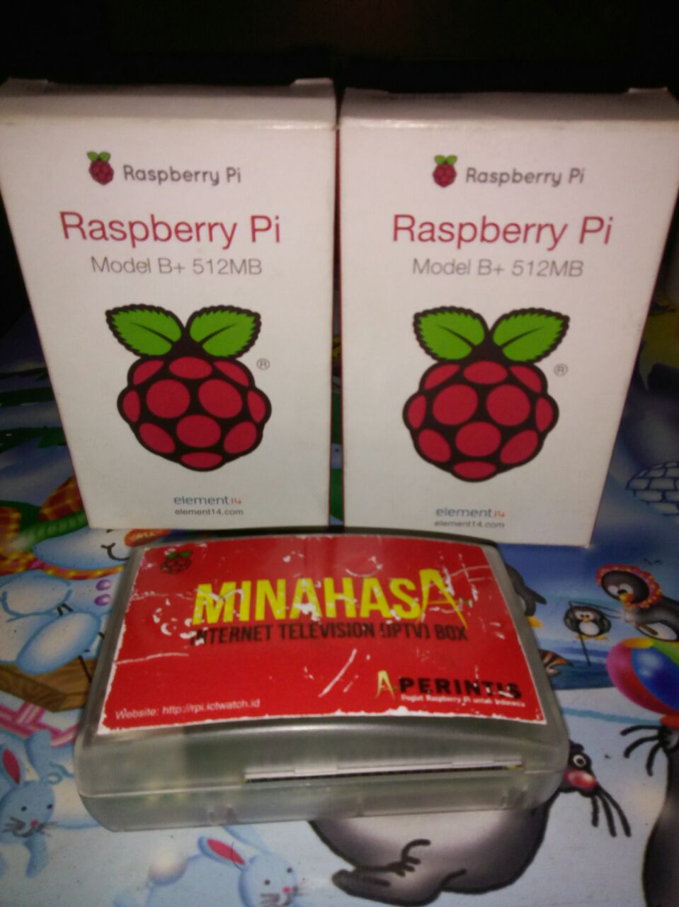 Minahasa IPTV Server   Pegiat RaspberryPI Indonesia