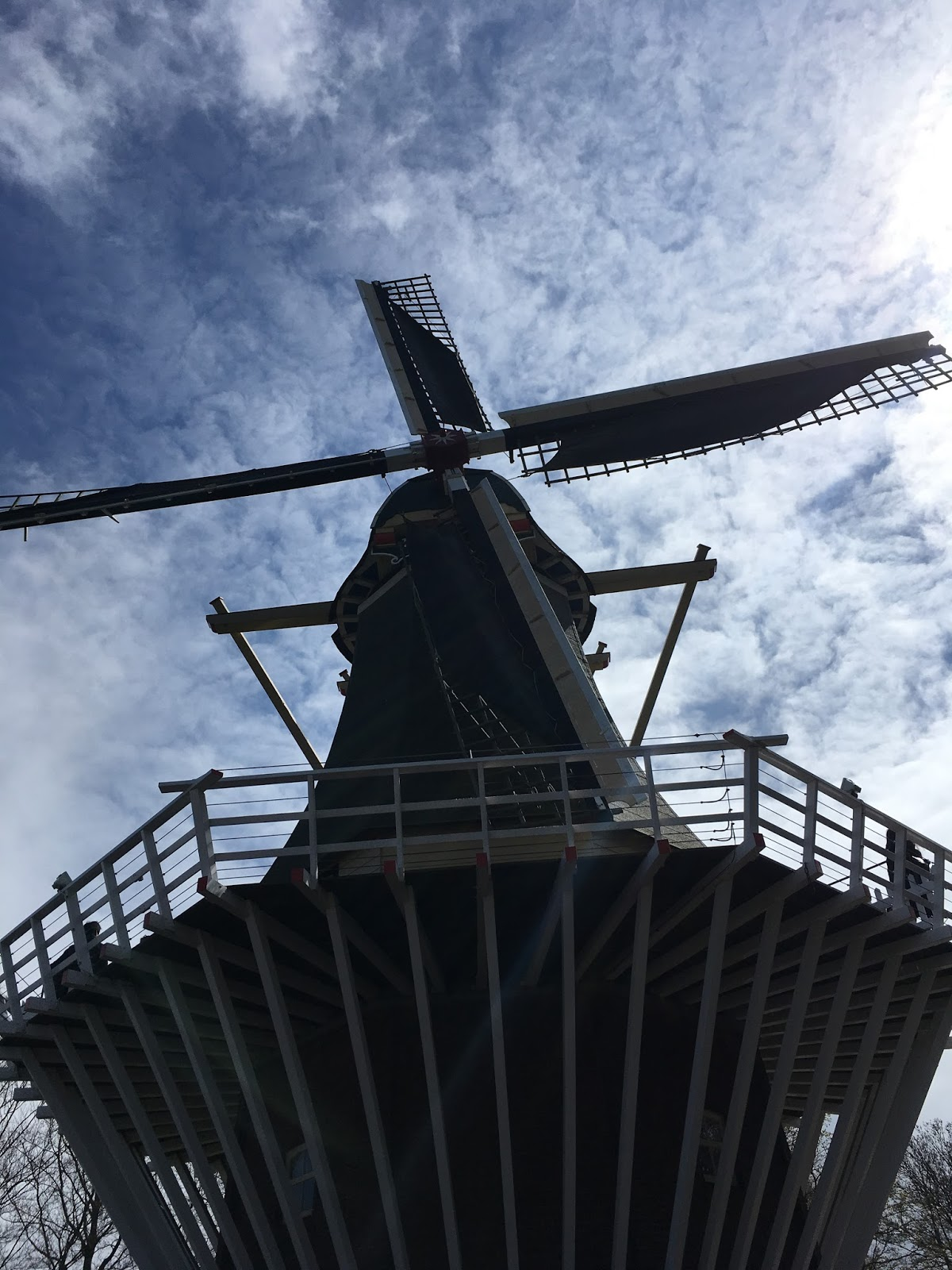 Windmill at Keukenhof, The Netherlands