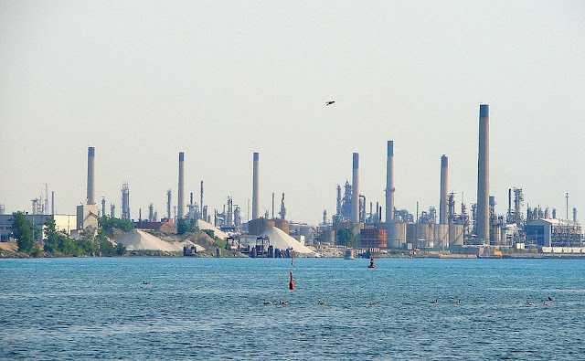 The Chemical Valley of Sarnia