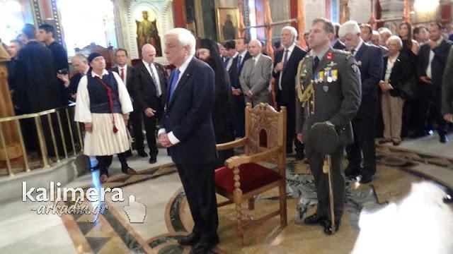 Στην Τρίπολη ο Πρόεδρος της Ελληνικής Δημοκρατίας για την επέτειο της απελευθέρωσης