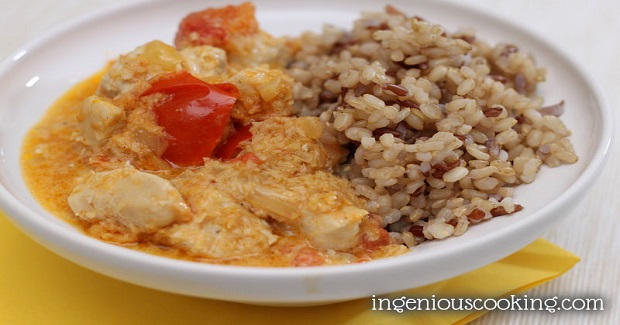 Quick Coconut Chicken Curry (Gluten-And Dairy-Free )Recipe