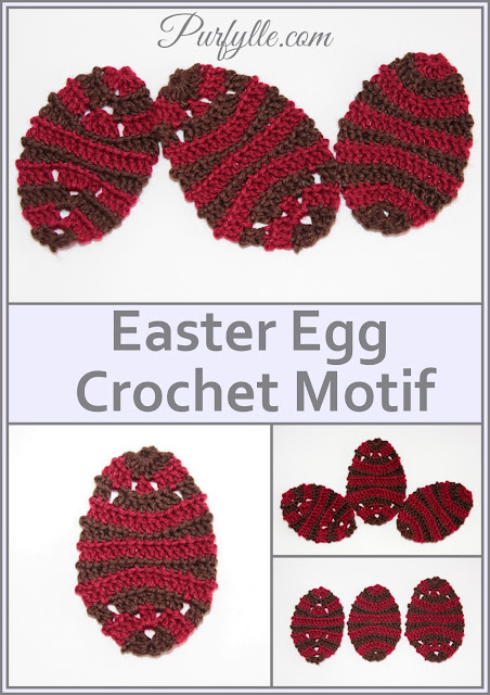 Easter Egg Back Loop Crochet Pattern 2