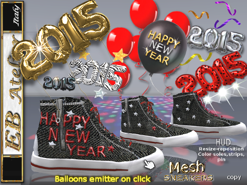 With balloons 2015 shape - balloons - bright stars and streamers emitter