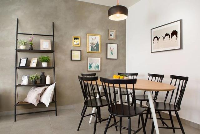 Thiết kế căn hộ 2 phòng ngủ hiện đại