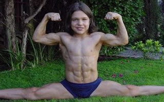 richard sandrak used to be the worlds strongest kid