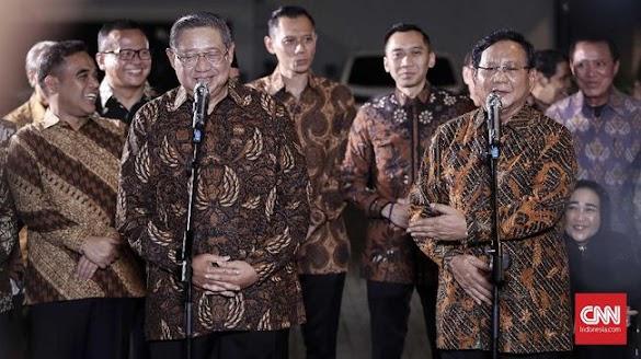 Etika Raja Jawa di Balik Pertemuan Prabowo dan SBY