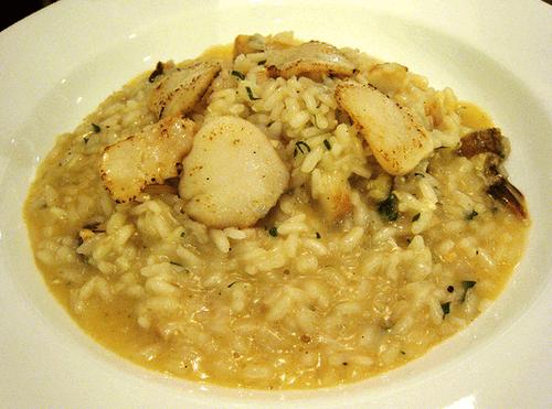 Crab and Scallop Risotto