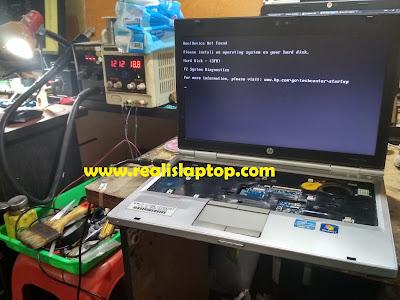 service laptop elietbook mati di malang