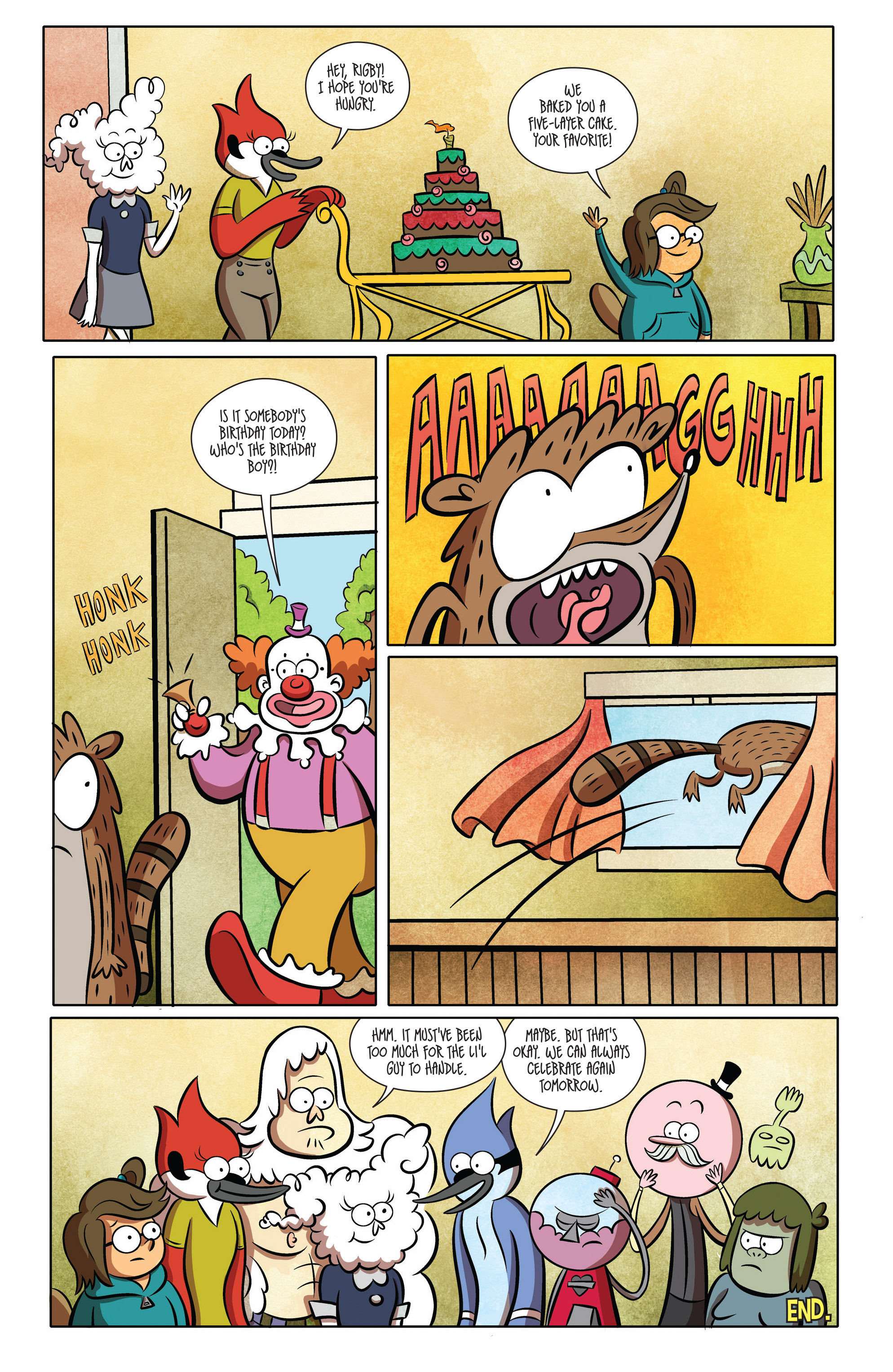 Read online Regular Show comic -  Issue # _2017 Special 1 - 12
