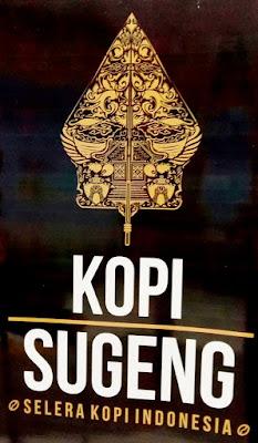 Logo Kopi Sugeng dengan tagline Selera Kopi Indonesia