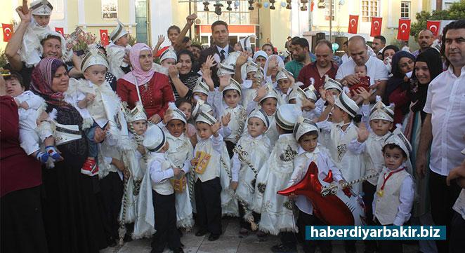 Bismil Belediyesi toplu sünnet şöleni düzenledi