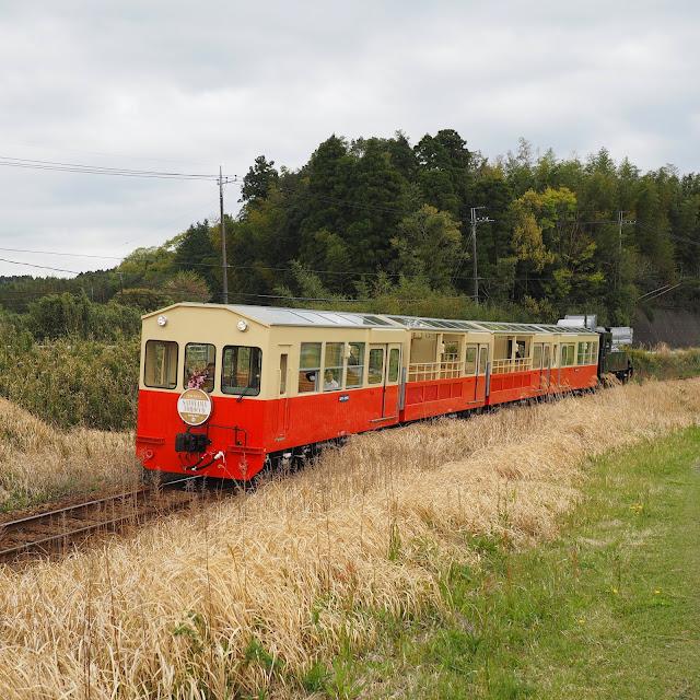 小湊鐵道 上総川間駅 SL風 トロッコ列車