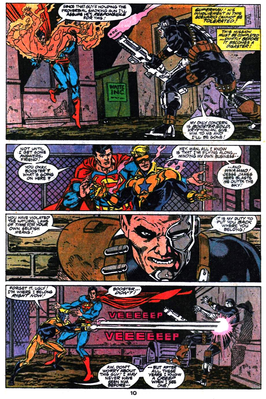 Read online Adventures of Superman (1987) comic -  Issue #476 - 11