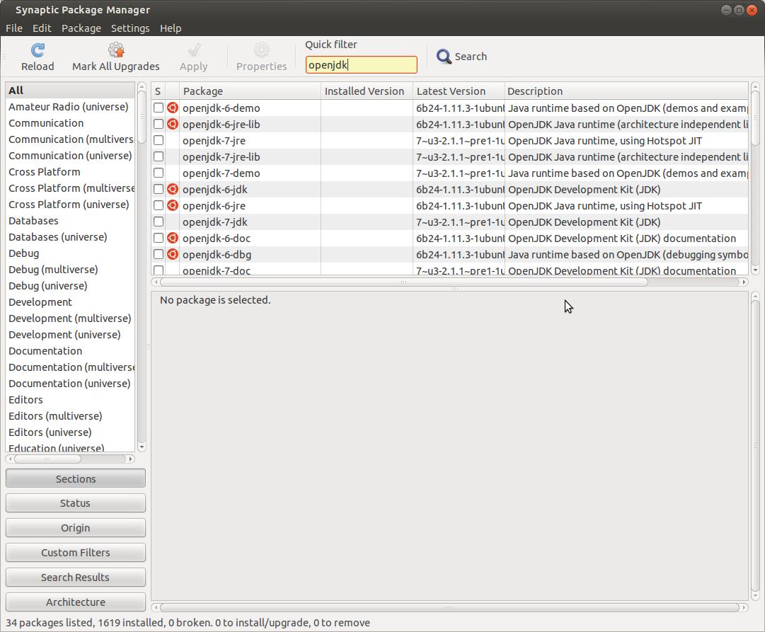Ridzwan's Blog: OpenJDK on Ubuntu 12 04 (Precise Pangolin)