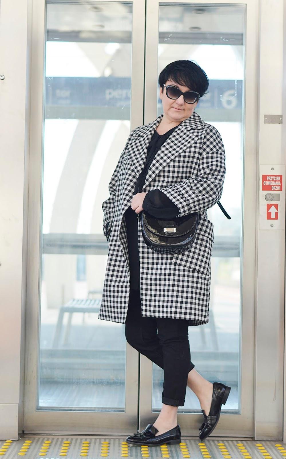 Zara coat, Zara płaszcz w kratkę