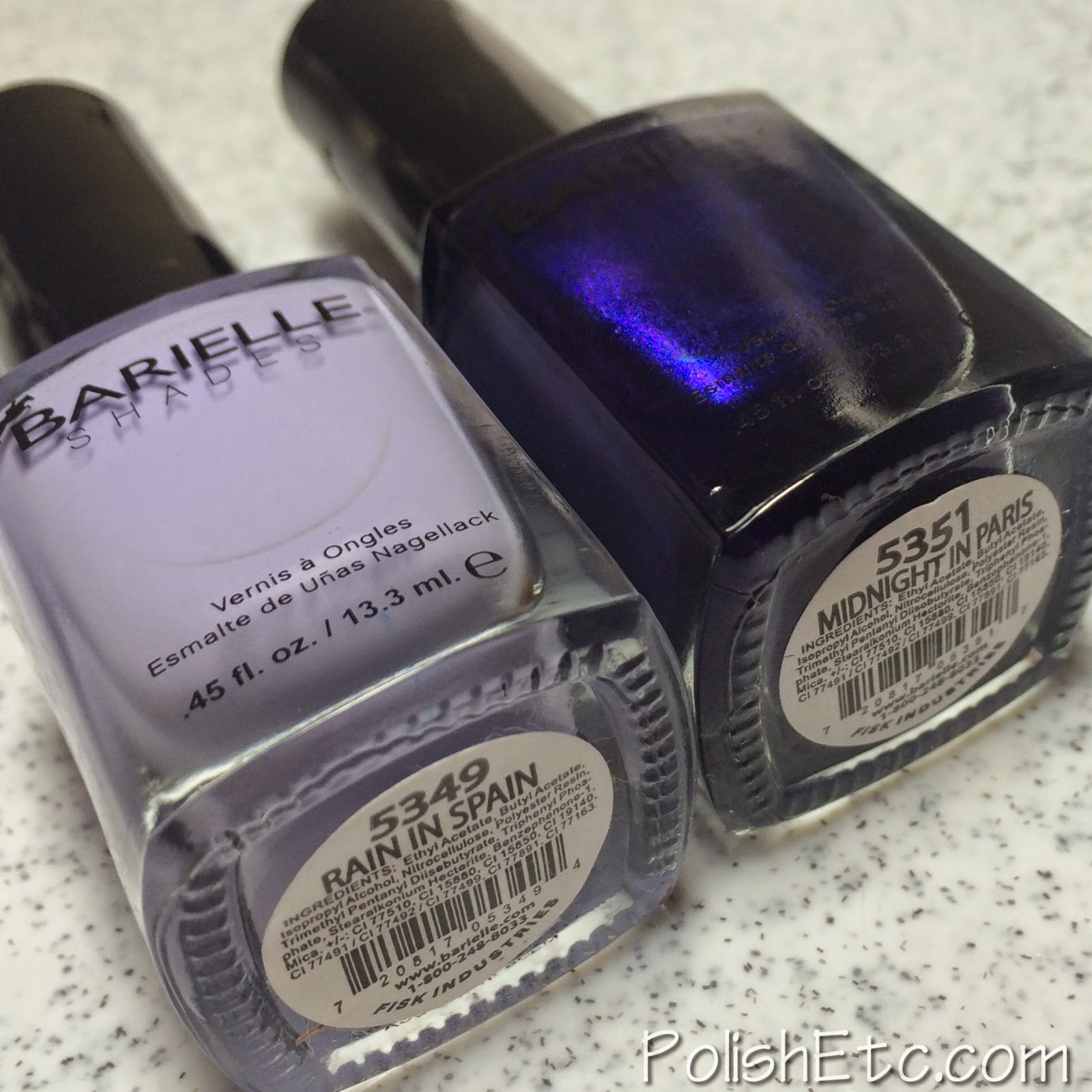 Barielle Jetsetter Collection - Nail Art by McPolish