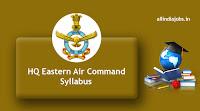 HQ Eastern Air Command Syllabus
