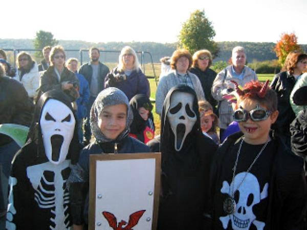 Michael Halloween Grade School 2005