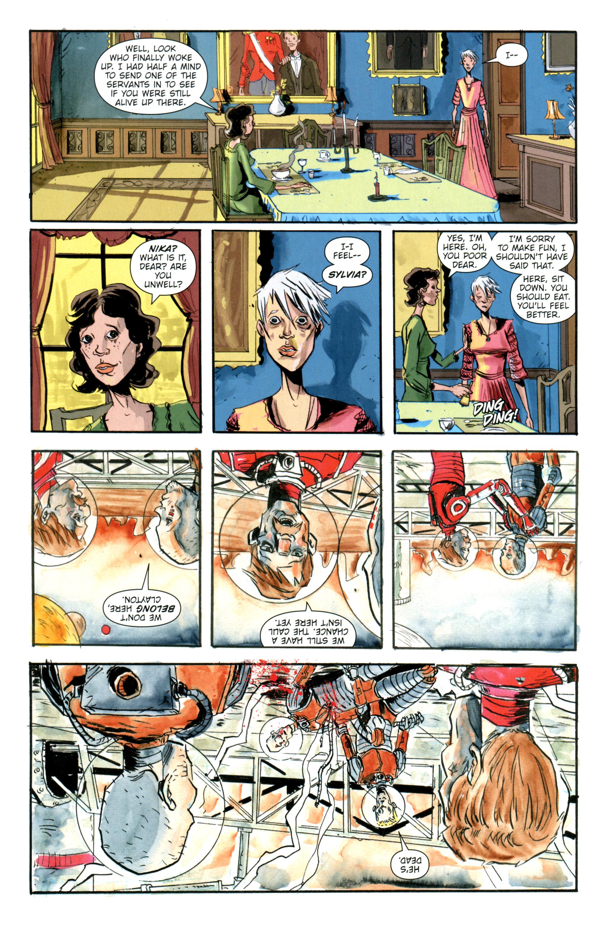 Read online Trillium comic -  Issue #5 - 5