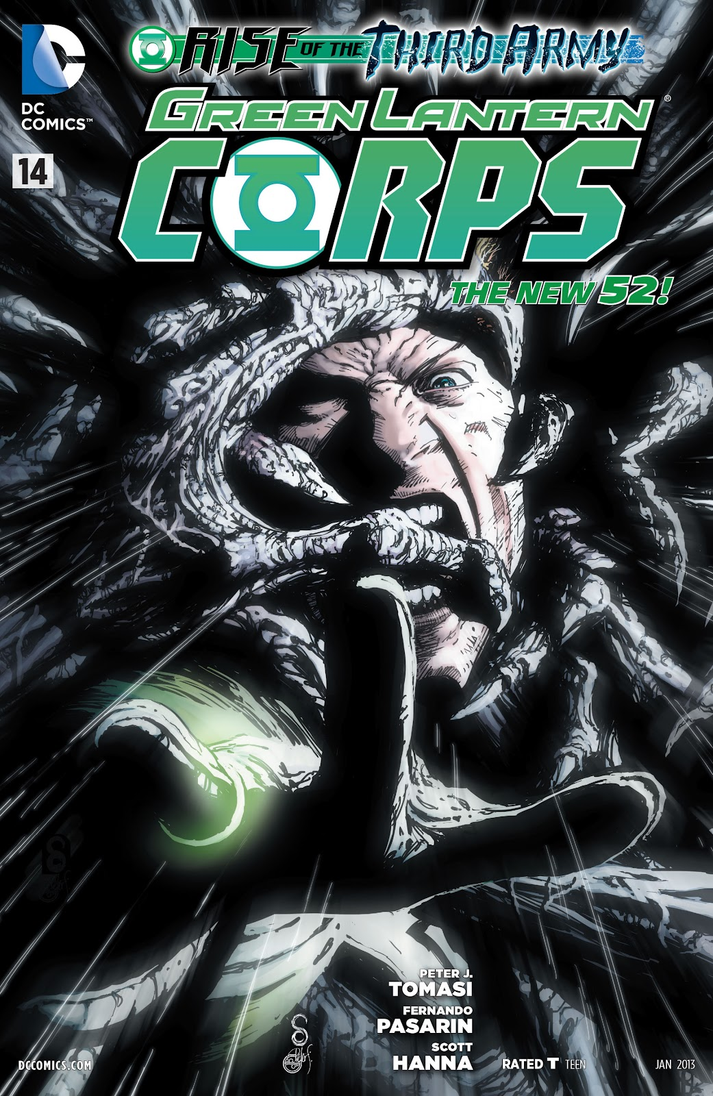 Green Lantern Corps issue 14 - Page 1