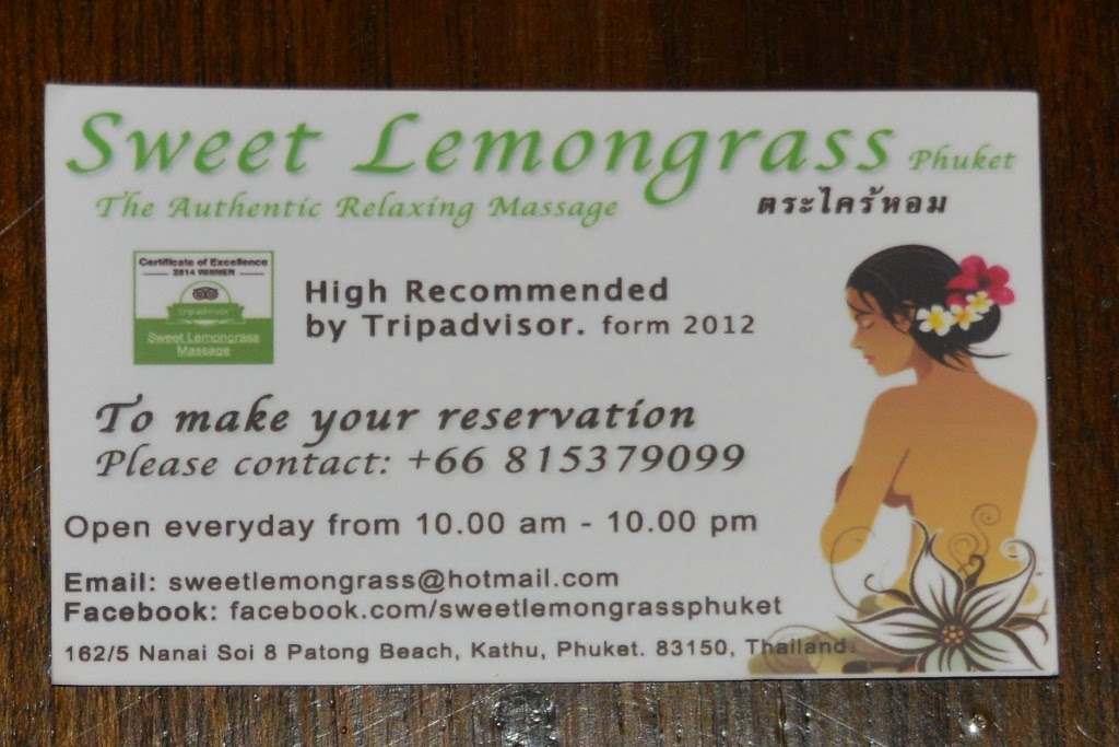 Sweet Lemongrass Patong Beach