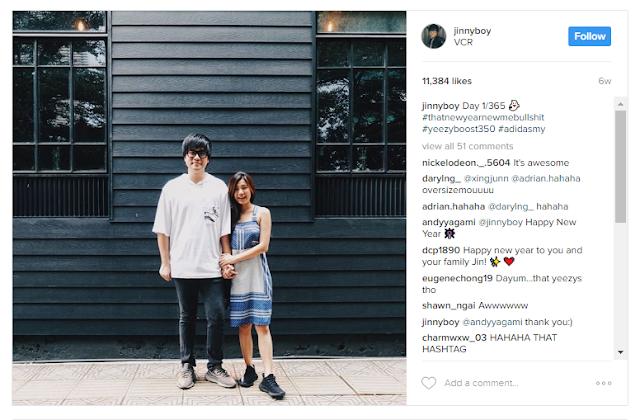 Jinnyboy Instagram