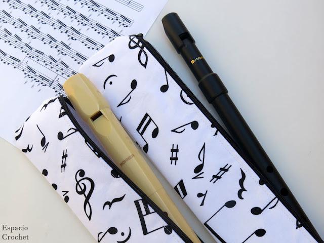 Estuche para flauta