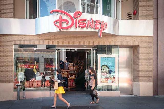 Loja de brinquedos Disney Store em San Francisco