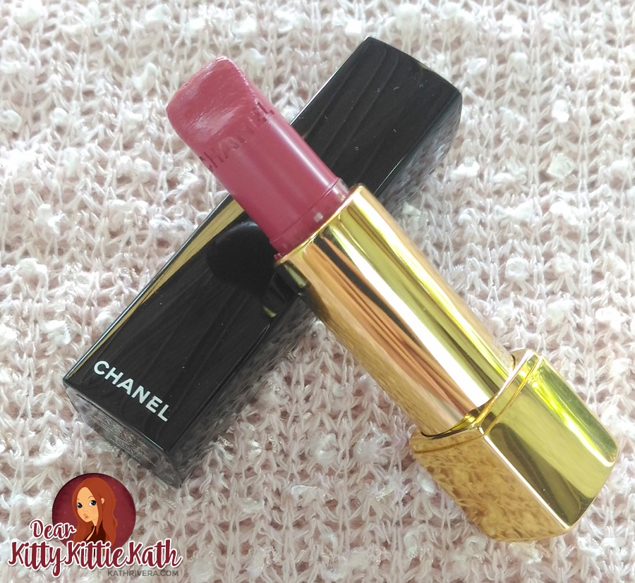 4fd32dc10a8 Product Review  Chanel Rouge Allure 158 in Virevoltante See the damage  above   (