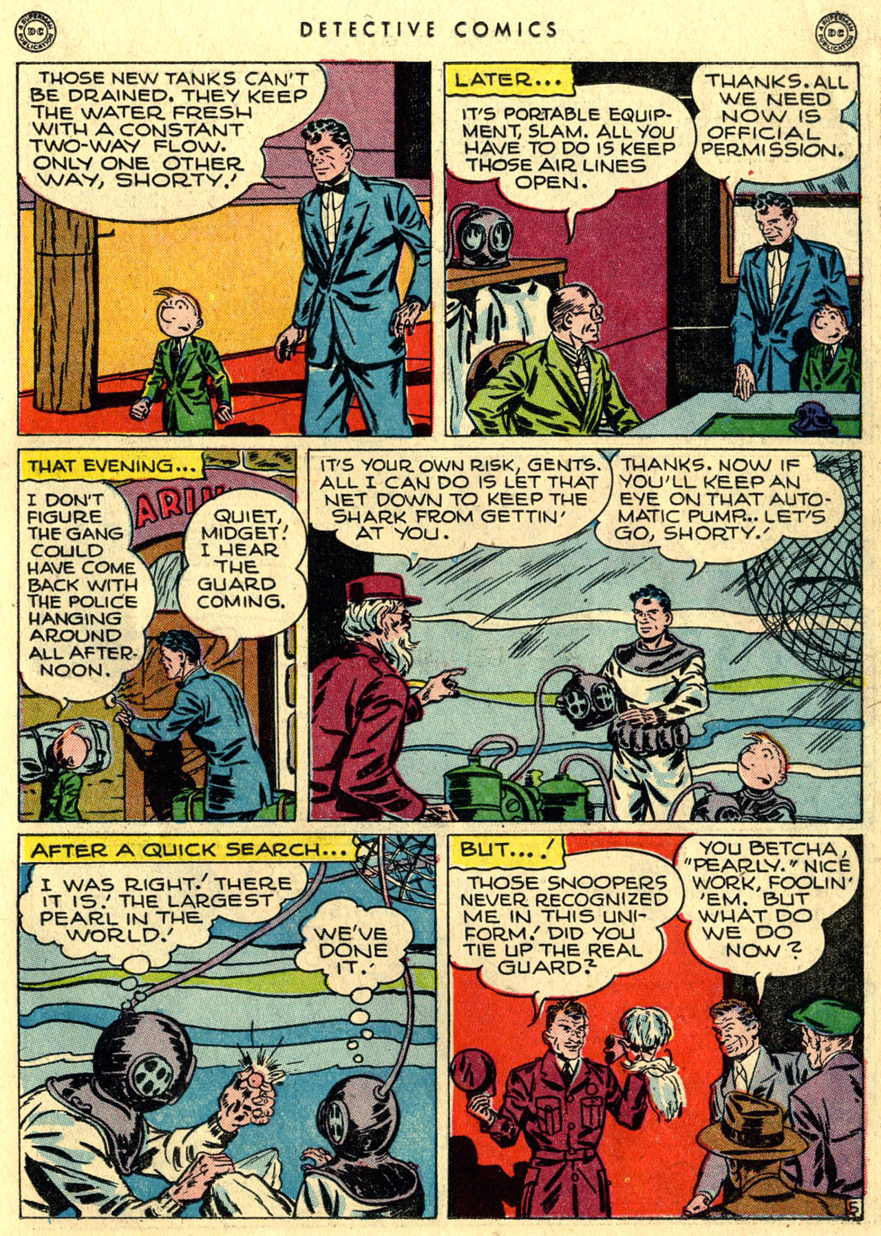 Read online Detective Comics (1937) comic -  Issue #118 - 21