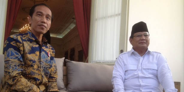 Survei CSIS: Generasi Milenial Lebih Pilih Prabowo daripada Jokowi