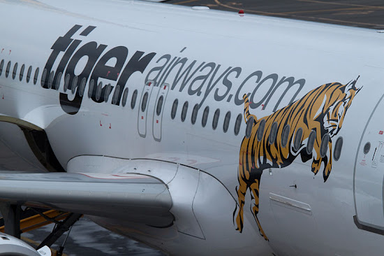 Logo of TigerAirways
